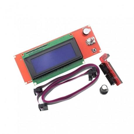 LCD дисплей 2004 для 3D принтера, ЧПУ, Лазерного гравера.