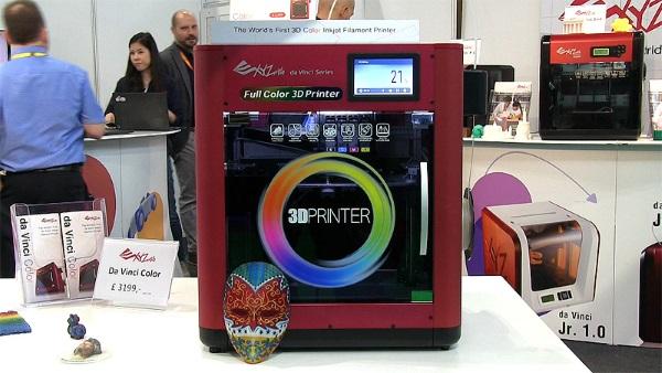 3D-принтер для экструзии цветных изделий «da Vinci Color»