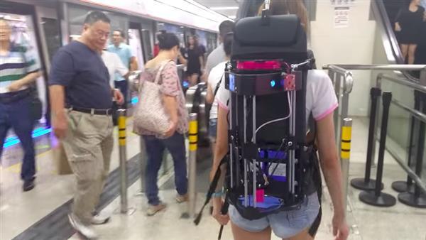 трехмерный рюкзак для 3D принтера
