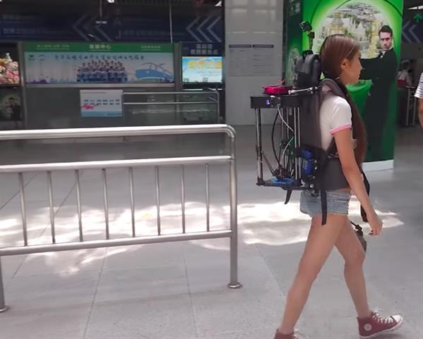 3D-принтер рюкзак