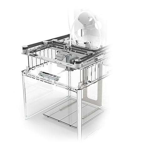 3D принтер Buccaneer внутри
