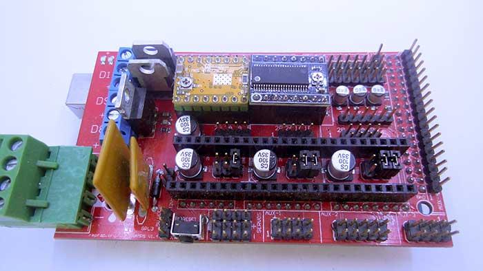 установка драйверов LV8729 на Ramps