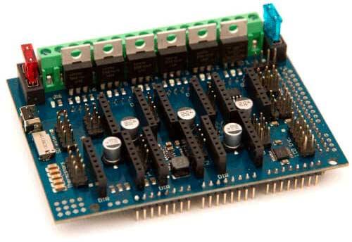 Arduino DUE с RADDS 1.5