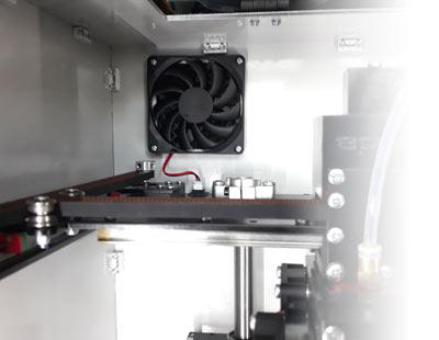Закрытый копрус (термокамера)3D принетера