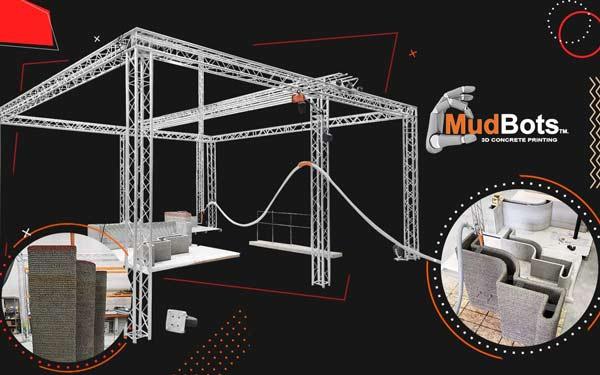 MudBots Concrete 3D Printer