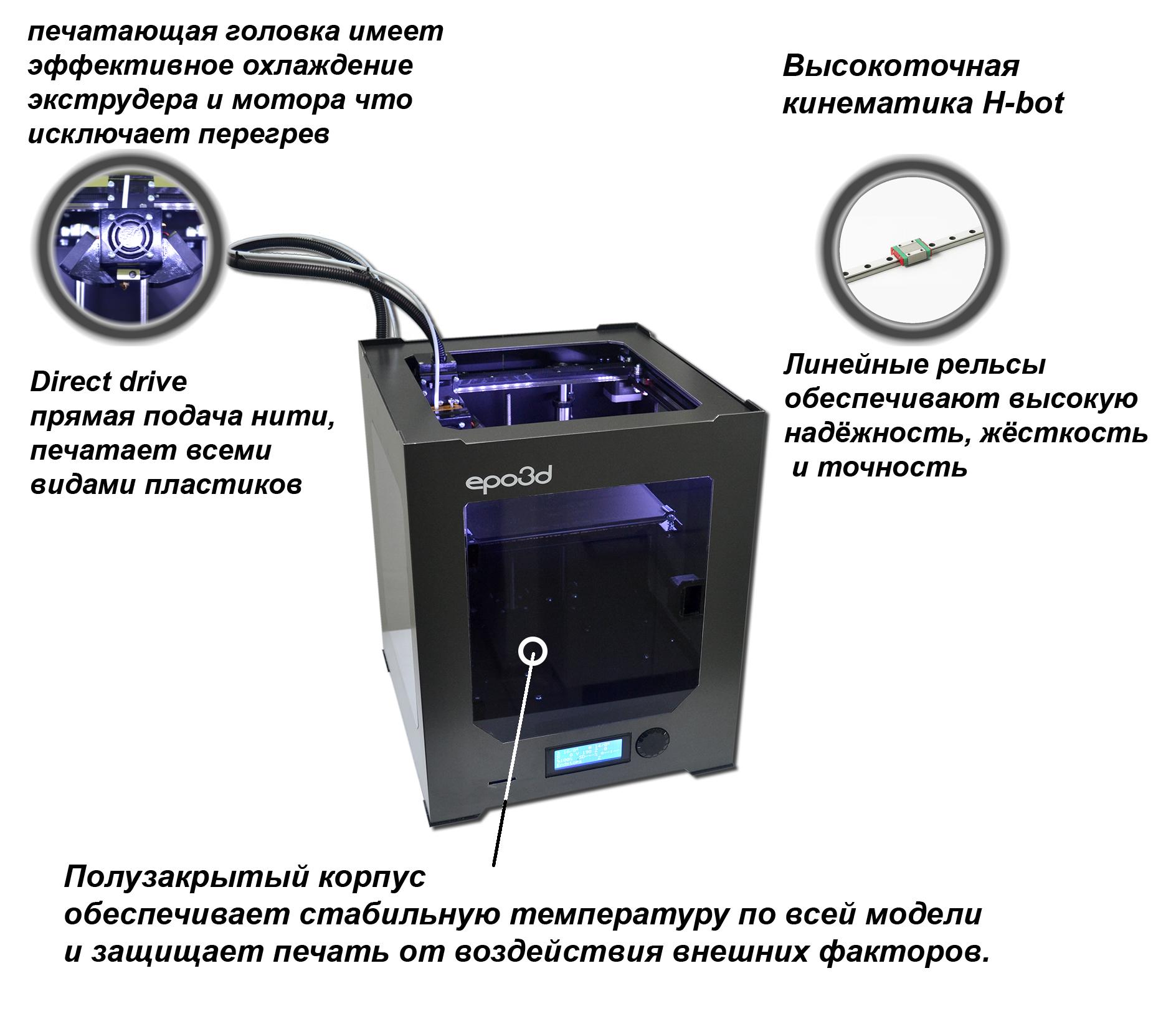 3Д принтер epo3d