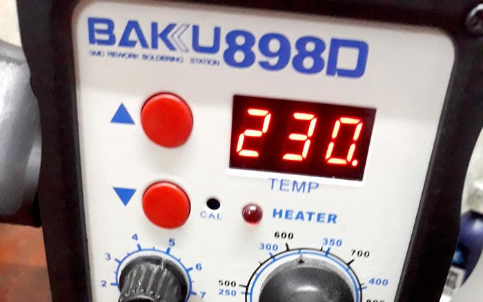 Температура термогибки