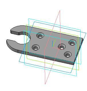 3D модель уголка