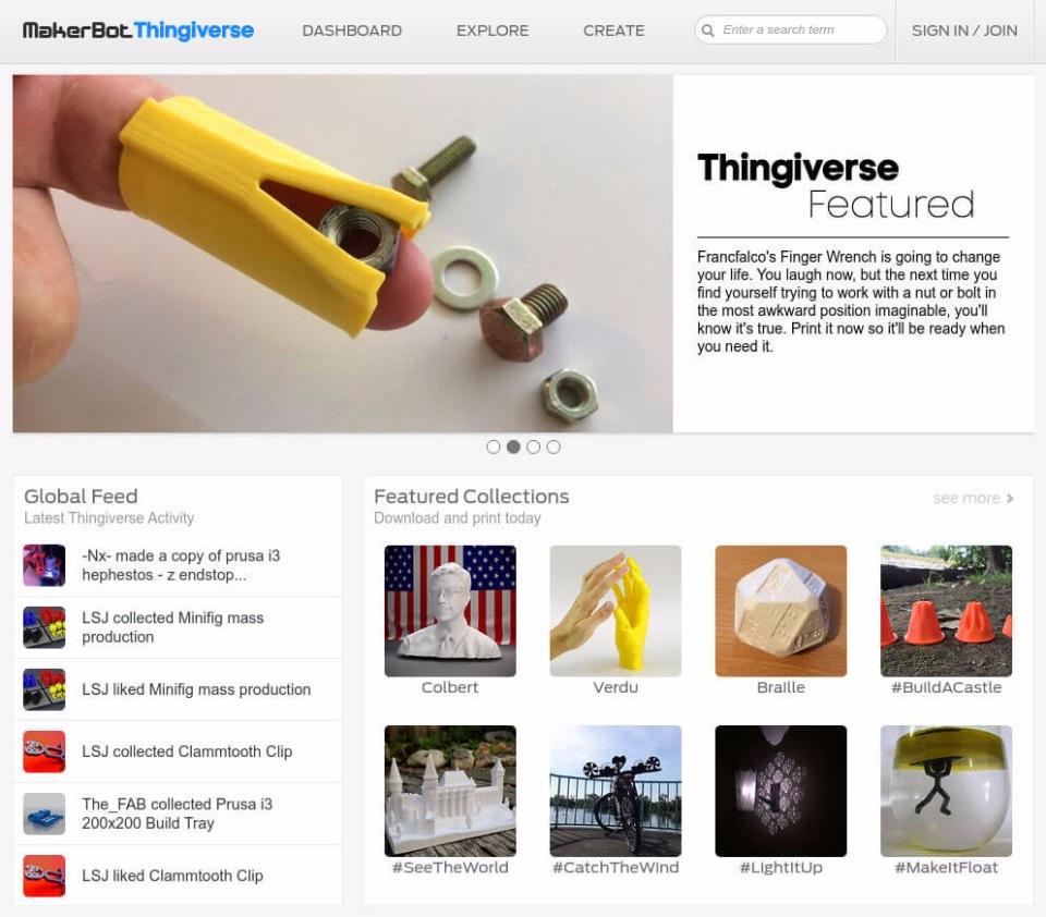 сайт с бесплатными моделями Tvingiverse