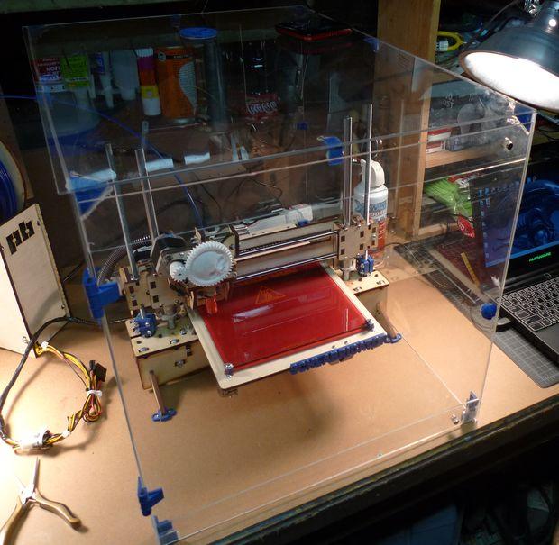 термошкаф для 3D принтера стеклянный