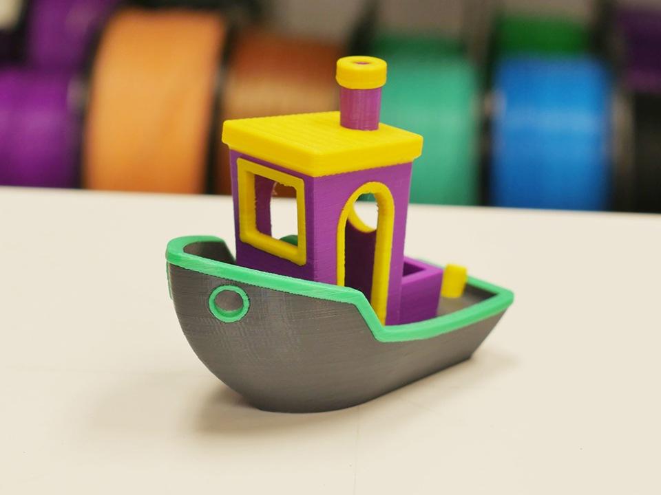 3D печатная модель кораблика