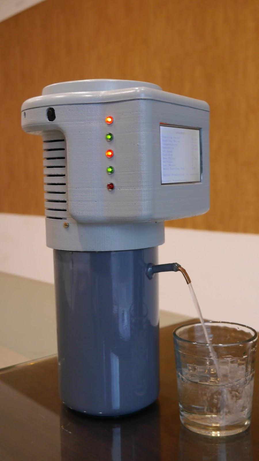 аппарат для добычи воды из воздуха (Dewdrop)