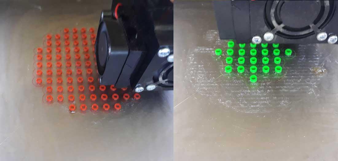 Печать бусин на 3D принтере