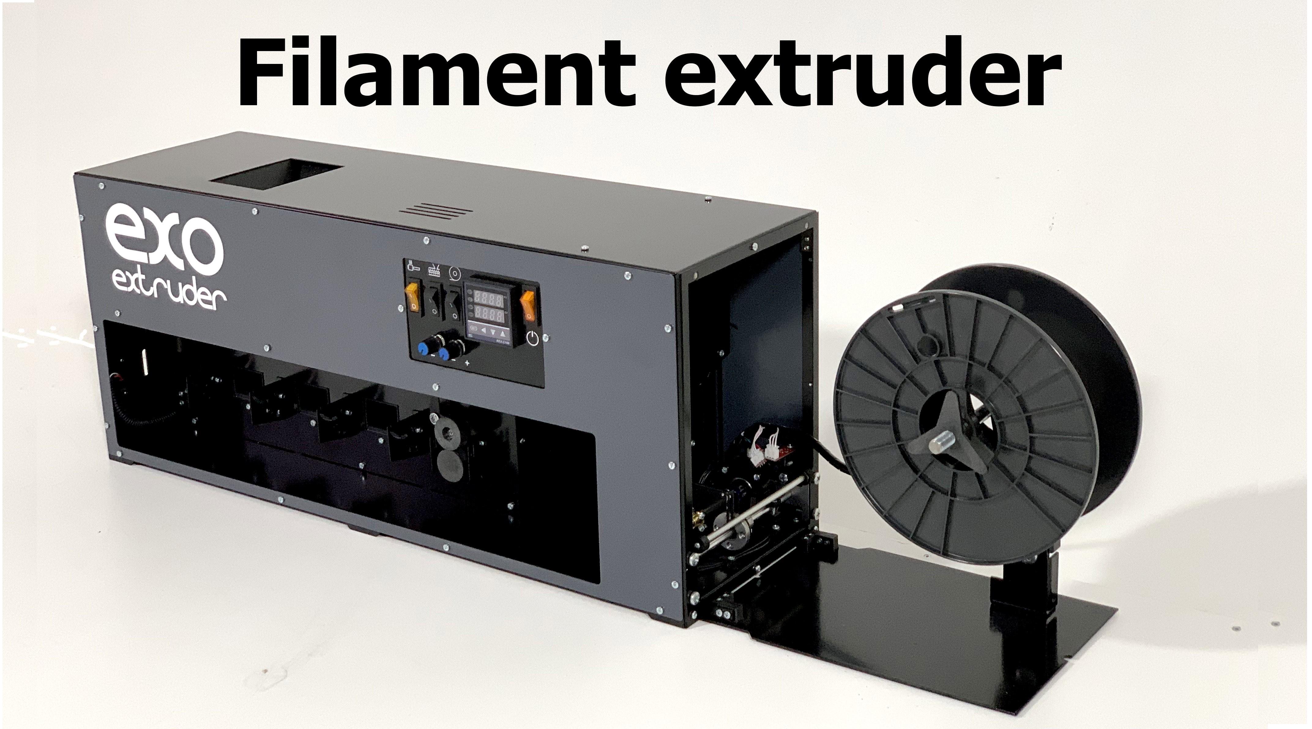 Экструдер для производства пластика для 3D принтера